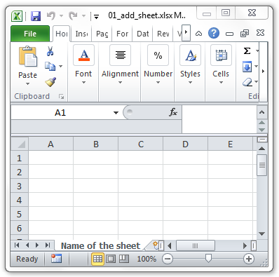 Create Excel ( xlsx) documents with Oracle PL/SQL
